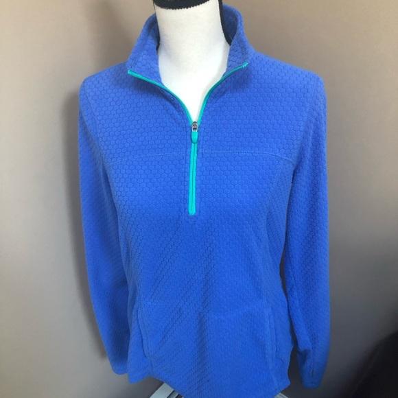 Women's Tek Gear Pullover fleece with zipper